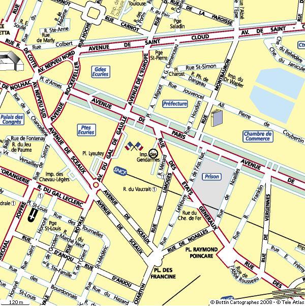 Ville Versailles Plan